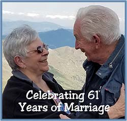 A.L. and Joyce Celebrating 61 Years