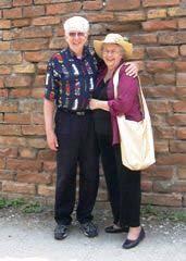 AL and Joyce in Italy