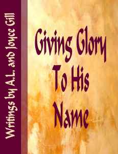 Cover Giving Glory