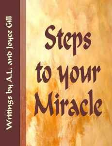 Cover Steps to miracle