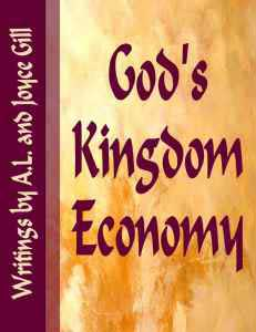Cover - God's Kingdom Economy
