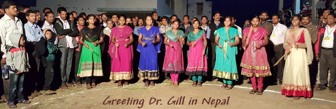 Greeting in Nepal Banner