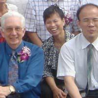 Papa Gill in china