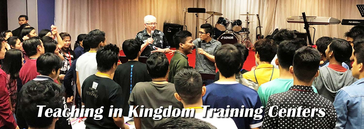 Teaching in Kingdom Training Centers
